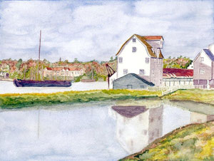 Woodbridge - Tide Mill and Pond