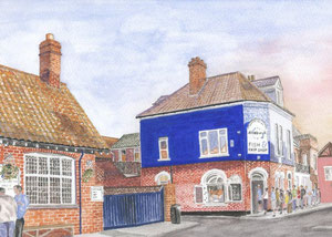 Aldeburgh - Famous Fish and Chip Shop