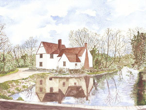 Willy Lott's House - near Flatford Mill