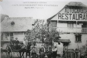 Le gîte l'ardoisière en 1917