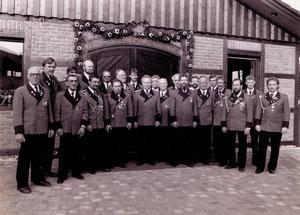 Einweihung der neuen Schützenhalle 1988