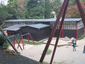 Kunstpavillon Rückseite