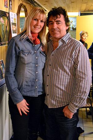 Kéty Lucy et Claude Barzotti (février 2013)