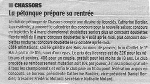 Charente Libre 9/12/2011 - Faire un clic sur le texte pour agrandir