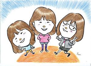 ご近所3姉妹♥ H25.4