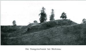 Меденау остатки валов фото 1922 г.
