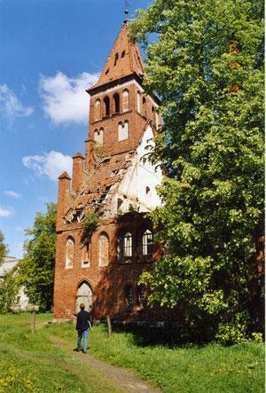 2005 г  Тимофеево - Sandkirchen   Кирха