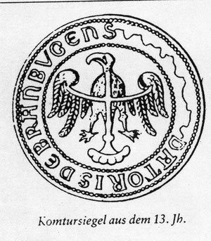печать комтура Бранденбурга