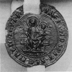 Печать хохмейстера 1291-1324 гг