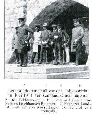 Открытие башни Бисмарка