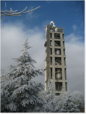 TURKEY - Preheating tower mixed steel-concrete, 120m high