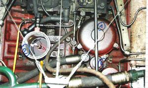 Filtergehäuse (2) des Feinfilters