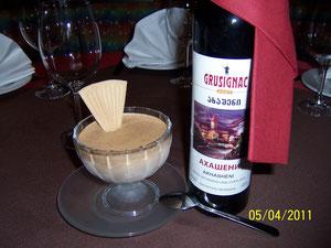 Schokmanje  (mit Cognac und Schokolade)