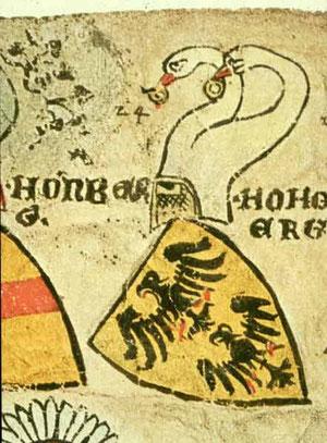 Zürcher Wappenrolle,  © Landesmuseum Zürich