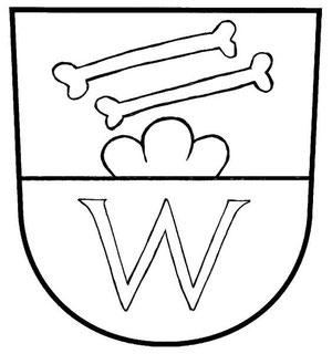 Das andere Wittnauer Wappen (Zeichnung: Christoph Benz)