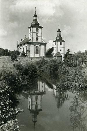 Die beiden Kirchen - Wahrzeichen von Burghaun