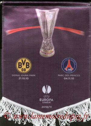 Fanion  PSG-Borussia Dortmund  2010-11