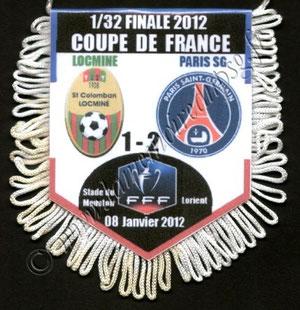 Fanion SC Locminé-PSG  2011-12