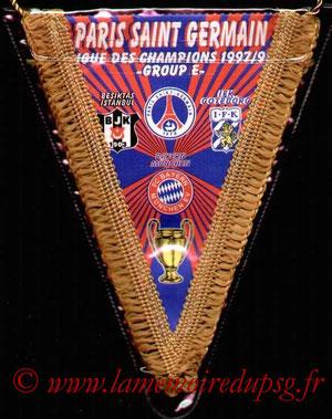 Fanion Groupe E  1997-98