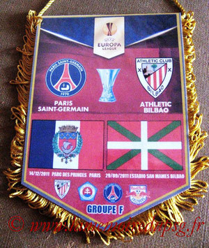 Fanion  PSG-Athletic Bilbao  2011-12
