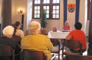 Lesung im Historischen Rathaus Pfungstadt