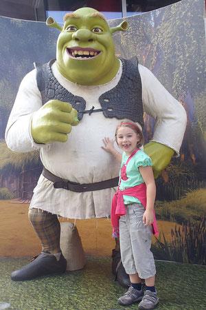 Lina mit Shrek