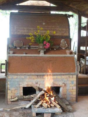 Noborigama - Four à bois cuisson céramique haute température -