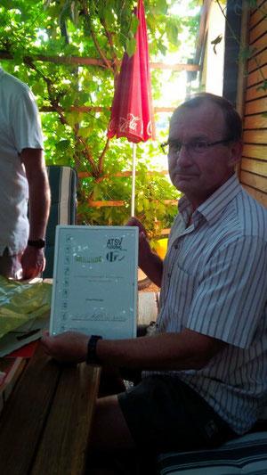 Reisinger Edi - 30 Jahre Mitgliedschaft