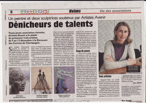 Journal L'Union, Novembre 2010, Expo Passerelle