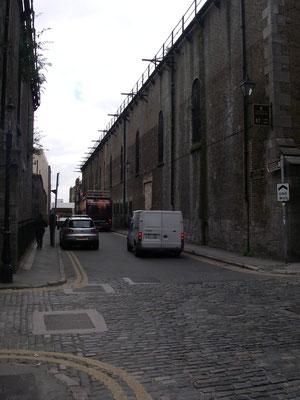 kvarter kring Guiness storehouse
