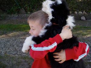 """Tjark mit Felix 2008, """"Beste Freunde"""""""
