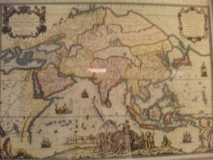 インド大陸 世界地図