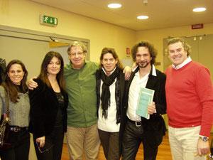 With, Fabio Armiliato, Roberto Scarpa, John  Neschling, Daniela Dessì, Chiara Pieretti in Parma