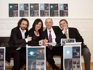 With Andreas von Imhoff, Daniela Dessì, Fabio Armiliato in Zürich