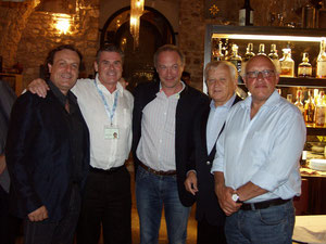 With Dario Destefano, Kolja Blacher, Ralf Weikert, Wolfram Christ at GarganoMasters - Vieste
