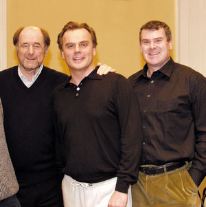 With Sir Roger Norrington and Andrea Griminelli in Salzburg