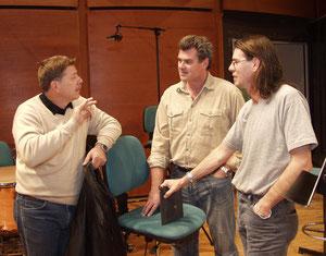 With Vijekoslav Sutej, Roberto Scarpa in Milano