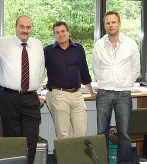 With Carlo Guelfi, Julian Schwenkner in Reutlingen