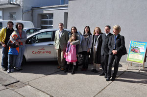 Die Auto-Teiler von Seekirchen anlässlich einer Mitgliederversammlung