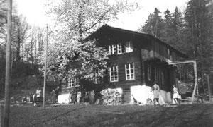 Ferienheim auf Zaun (1950er Jahre)