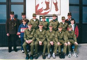 Die erste Jugendgruppe der FF Haibach