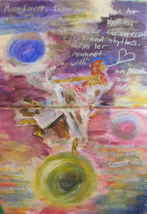 Art Journaling mit der Malbegleiterin Christine Lukas in Bingen