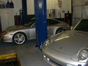 05 PORSCHE 997 AND 96 PORSCE 993 TT