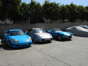 99 PORSCHE GT3 REPLICA FROM FAST 5, 02 PORSCHE TWIN TURBO, CONTEMPORARY COBRA 427