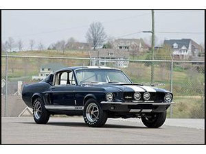 67 SHELBY MUSTANG GT 500
