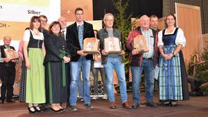 Sieger der Kärntner Bären in der Kategorie Waldhonig