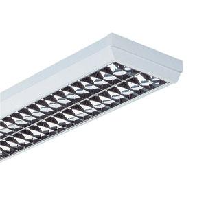 Philips Anbauleuchte für TL-D Lampen TCS198-2XTL-D58WHFP-C6-1000LR 69500600