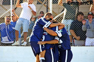Scolari y cia, celebran el segundo gol