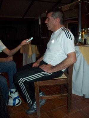 En la entrevista