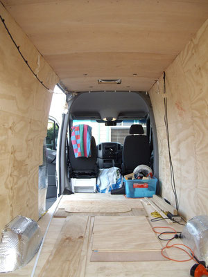 Insulation And Lining Stealthsprinter